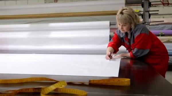 Производство натяжных потолков как бизнес