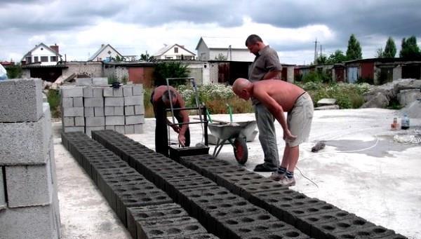 Производство шлакоблоков как бизнес