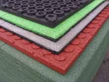 Производство плитки из резиновой крошки как бизнес