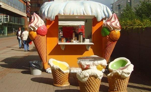 Продажа мороженого на улице как бизнес