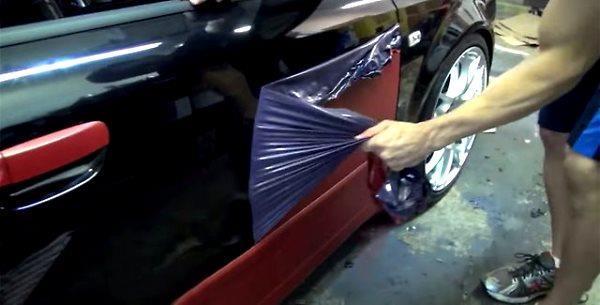 Покраска автомобиля жидкой резиной как бизнес